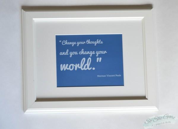 change quote print