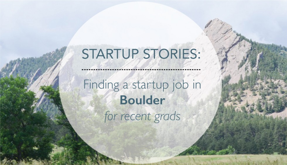 startup stories: working in boulder