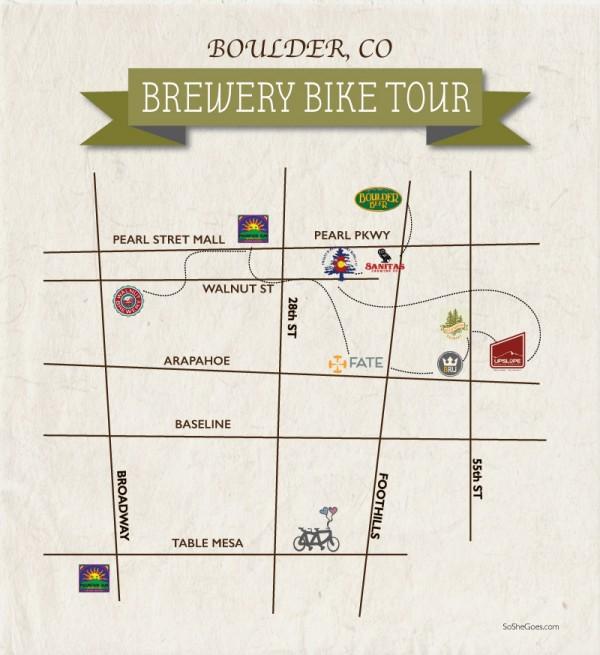 Boulder Bike Brewery Tour